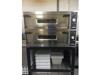 Double Deck Pizza Oven & Stand