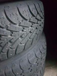 4 Used 195/60/15 Winter Tires
