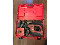 Hilti reciprocating saw WSR 36-A Charger And 2x 36v Li-ion Batteries 3.0ah + original hard case
