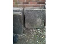 Slabs Grey 2ft x 2ft - shabby chic or ideal for shed base