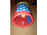 Inflatable rolling baby toy