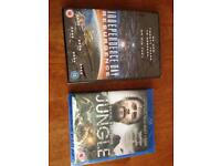 DVD and blue ray films