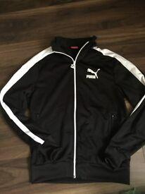 Men's puma track suit jacket top