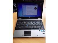 HP Elitebook 8440p. 500Gb Hard Drive Intel i5 2.4Ghz, 8GB Memory, Windows 7 Pro