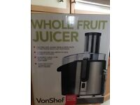 VonShelf 990w Fruit Juicer