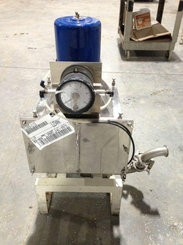 Plastic Resin/Pellet Injection Molder Vacuum Dryer w/ 0-100mm H2O Gauge
