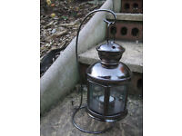 Lantern ornate hanging lantern with stand,Outdoor Collection