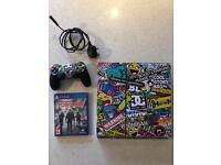 PS4 with controller & Division game