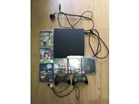 PLAYSTATION 3 inc 2 CONTROLLERS/ GAMES / BLU RAY & ACCESSORIES