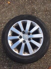 Genuine Honda Civic EP2 alloys + tyres