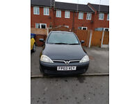 Vouxhall Corsa SXI 2003 Low milage! Very good runner!!