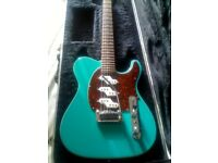 Lovely Leo Fender G&L USA Asat Custom Z3 Electric guitar -A cross between a Strat and a Telecaster