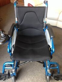 Electric Wheelchair, Folding, Transportable