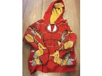 From Disneyland pairs iron man zip up jacket