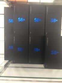 Samsung galaxy s8 plus UNLOCK BOXED