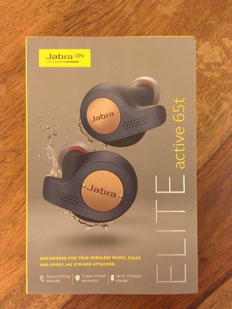 20d8c3f316c Jabra Elite Active 65t Wireless Bluetooth 5.0 Earbuds & Charging Case. RRP  £170