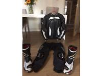 RST 2 piece and boots