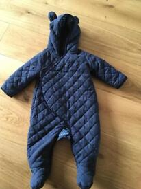 Baby gap 6-12 month quilted jacket