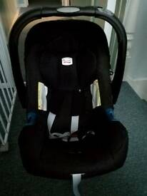 Baby class 1 car seat and isofix