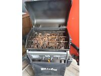 BillyOh Gas and Lava Rocks Barbique with hose and regulator (leather cover) £30
