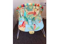 Bright starts bouncy chair £10