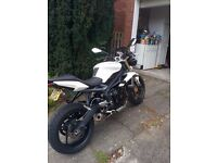 Triumph Street triple - show room condition. Competition Werks tail tidy and can fitted.