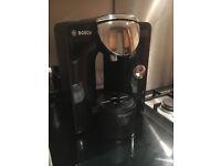 Bosch Tassimo Coffee Machine & Coffee Pod Tray - hardly used