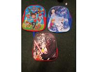 New kids backpacks..paw patrol..starwars(3d)...frozen