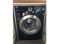 LG 8kg Steam Direct Drive 1400spin BLACK Washing Machine **PRICE REDUCED**