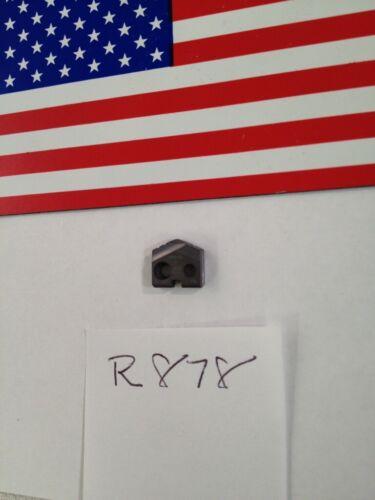"""1 NEW 10 MM ALLIED SPADE DRILL INSERT BIT. 15YN-10 AMEC. (.394"""") USA. T (R878)"""