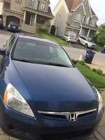 Honda accord 2006 low mileage 133000 Kms only