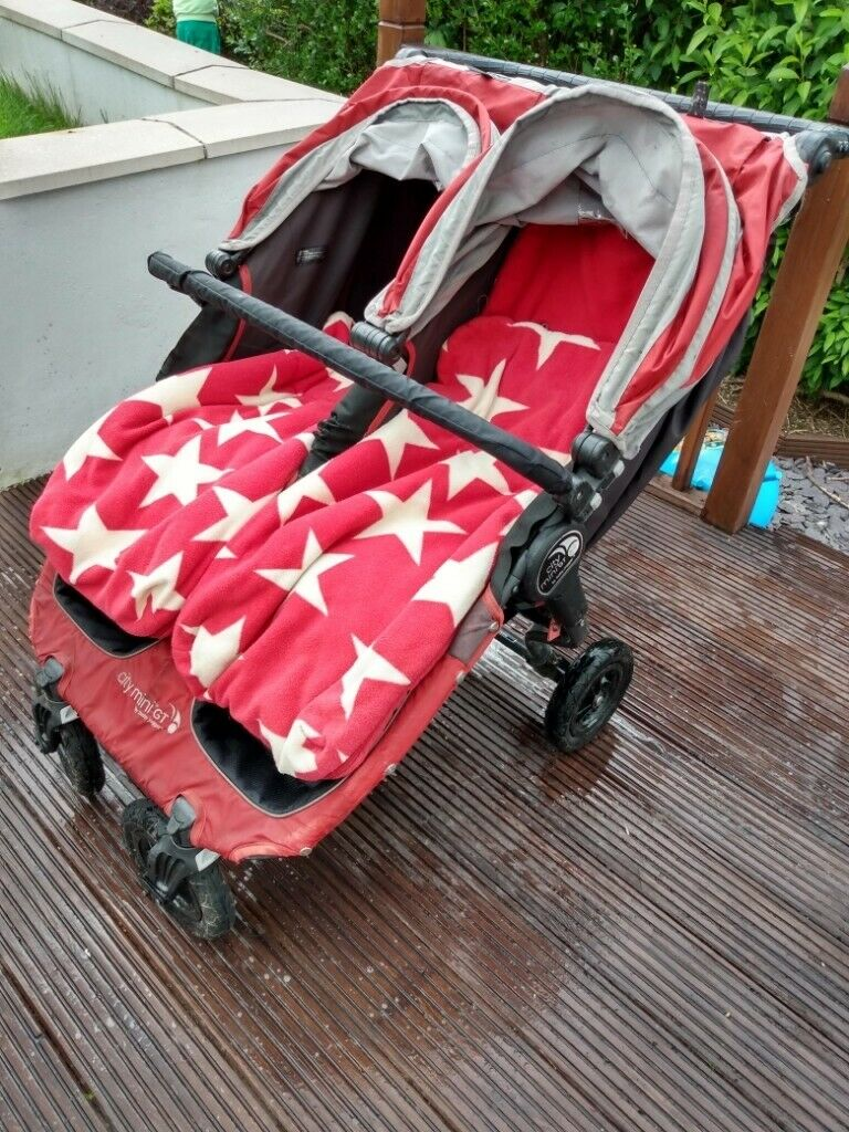 Price Reduced Baby Jogger City Mini Gt Double Pushchair Red In Southside Glasgow Gumtree