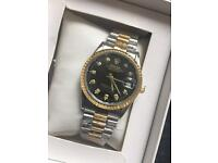 Rolex date just all colours sweep hand automatic £40 boxedcan deliv or post text me