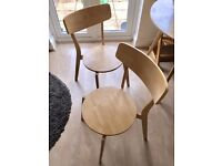 Immaculate Pair of Modern Dining Chairs