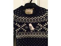 Jack Will's Christmas jumper size 8