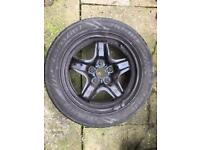 """Single Vauxhall insignia 17"""" wheel with good tyre"""
