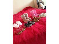 Girls size 4 shoes bundle