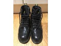 Dr Martens Industrial Steel Toe Capped Boots Size 8