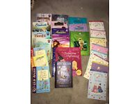 Selection of children's books - princess poppy, disney etc selling to give money to charity