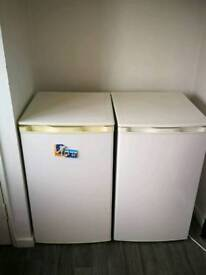 Chest fridge and freezer