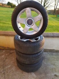 Alloys Audi Allroad C5 Alloy wheels and tyres