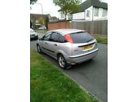 FORD FOCUS 1.6 ZETEC FIVE DOOR HATCHBACK ONLY 68.000 MILES VERY NICE CAR DRIVES WELL NO FAULTS £795