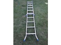 Abru two part ladder step or straight