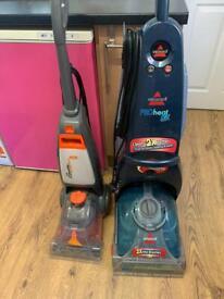 2 carpet cleaners £20 spare or repair