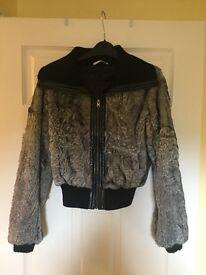 Faux Fur Coat Size 8