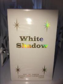 New boxed White Shadow perfume