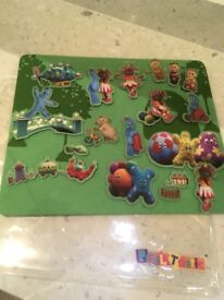 Peppa pig and in the night garden felt pictures
