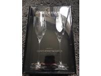 Diamanté Glasses - Rennie Mackintosh style