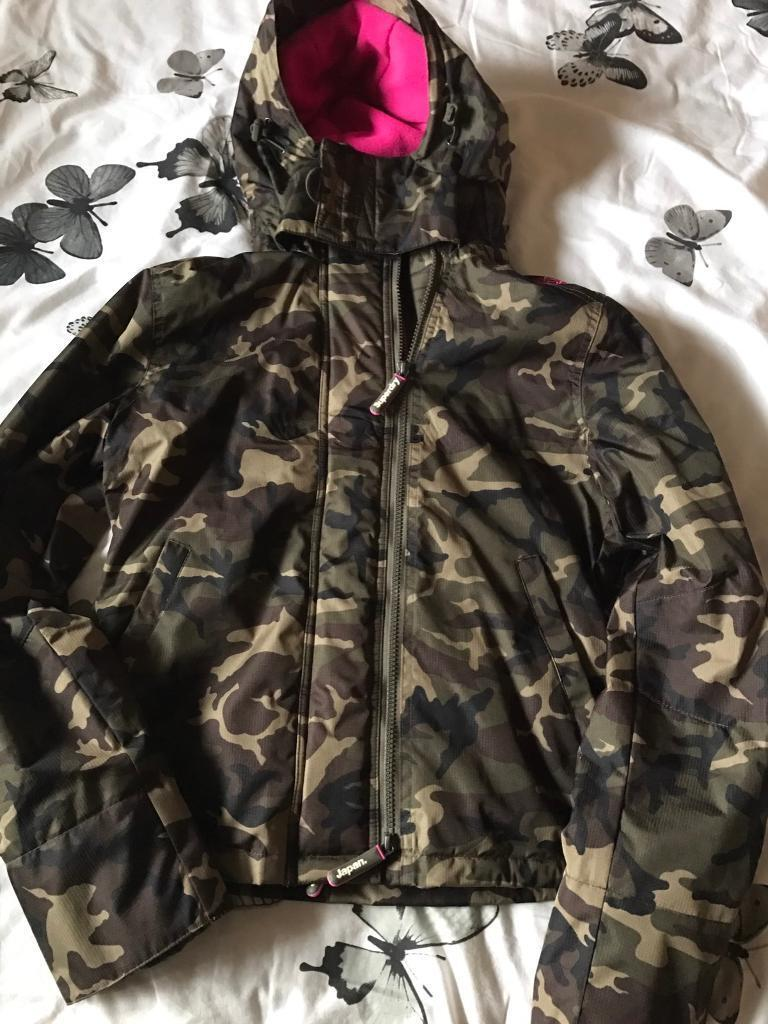 Genuine superdry ladies jackets size small