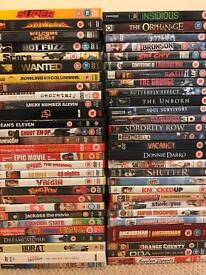 Dvd Bundle (58 DVDs) comedy horror, mixed lot